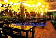 Sang nhượng nhà hàng gần Royal City, Ngã Tư Sở 600m2, 45 tr/th, 0973513678