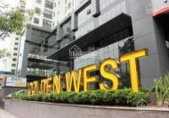 Cho thuê căn hộ Golden West 2 phòng ngủ đồ cơ bản, giá 11 tr/th
