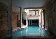 Biệt thự hai mặt ngõ Kim Đồng, yên tĩnh, có bể bơi, có gara và hầm rượu