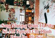 Sang nhượng quán Café, Trà sữa mặt đường Nguyễn Chí Thanh