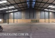 Cho thuê gấp kho tại Thanh Trì, Hà Nội DT 205m2