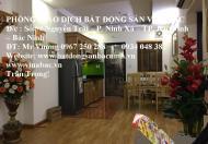 Cho thuê căn hộ chung cư Cát Tường, tại trung tâm TP.Bắc Ninh