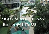 Bán căn góc căn hộ Saigon Airport Plaza, tầng cao, view sân bay, 2PN-4,2 tỉ
