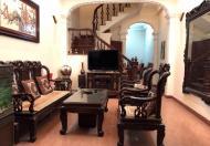 Cho thuê nhà Đường Láng, DT 60 m2, 4 tầng, MT 4,3m, đầy đủ đồ, giá 14 tr/th