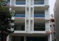 $Cho thuê tòa nhà mới xây góc 2MT Đường D4, khu Him Lam, Q.7, DT: 10x22m, hầm, trệt, 4 lầu