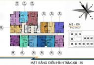 Bán căn hộ FLC Star Tower 418 Quang Trung, 1502 (74,6m2) 1610(93,5m2) 16tr/m2, LH: 0902193188