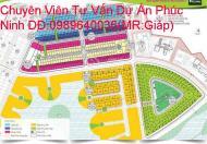 Bán nhà Phố liền kề tại Dự án Khu đô thị Phúc Ninh, Bắc Ninh,phong thủy vượng khí hướng Nam :0989640036.