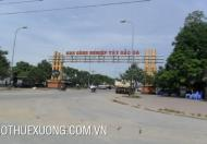 Cho thuê kho xưởng tại KCN Tây Bắc GA, Thanh Hóa