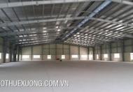 Cho thuê kho xưởng tại KCN Tân Trường, Cẩm Giang Hải Dương DT 2010m2