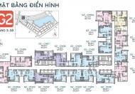 Bán căn hộ chung cư tại dự án Vinhomes Green Bay Mễ Trì, Nam Từ Liêm, dt 68.8m2, giá 2.7 tỷ