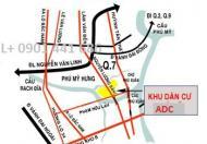 Bán đất nền KDC ADC Phú Mỹ, giá từ 5 tỷ. LH:0966222151 Hương.