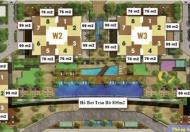 Sunrise City Q.7, khu Central 2PN, 76m2, view H.đông, có nội thất giá 3,750 tỷ 0908245222