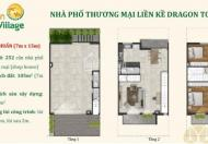 Chỉ 3tỷ9/căn nhà phố Dragon Village Q9 Tháng 3/2019 nhận nhà