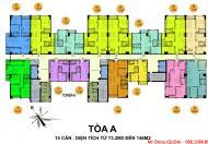 Bán chung cư Hồ Gươm Plaza, giá từ 21 - 25 triệu/m2, căn 65m2 - 146m2, nhận nhà ở luôn
