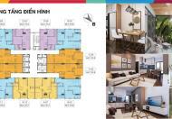 Bán căn hộ chung cư trung tâm Hà Nội chỉ với 16.5tr/m2.