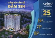 Chỉ 300tr sở hữu căn hộ Carillon, ngay Đầm Sen, cam kết lợi nhuận ngay 20%, CK 5%. LH: 0901919376