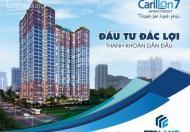 Căn hộ Carillon 7 CĐT Sacomreal 2PN, 1,7 tỷ, CK 5%, LS 5%, hạ tầng nâng bước môi trường sống