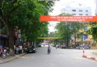 Bán nhà mặt phố Vân Hồ 2, đường ven công viên Thống Nhất, 50m2, 7 tầng, mặt tiền 5,5m, 22 tỷ