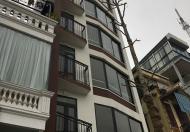 Cho thuê nhà mới xây mặt phố Quận Hai Bà Trưng. Diện tích: 50m2 x 6,5 tầng. mặt tiền 5,5m.
