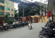Cho thuê nhà phố Nguyễn Chí Thanh DT 45m2, 7 tầng, MT 5,2m. Có thang máy, ô tô to đỗ cửa
