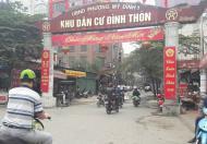 Bán mảnh đất 100m2, mặt phố Đình Thôn, Mỹ Đình, Hà Nội