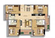 Căn hộ đẹp Penthouse  Handi Resco 89 Lê Văn Lương, 171m2 căn góc 4 ngủ giá chỉ từ 31,5tr/m2 0934634268