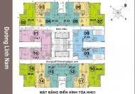 Cho thuê căn hộ chung cư 75 Tam Trinh đầy đủ đồ, giá 8,5 triệu/tháng, LH 0919271728