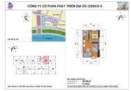 Chính chủ bán căn hộ 46m2, tầng 15, HH03C Thanh Hà Cienco 5, Hà Đông, HN, chỉ 12tr/m2