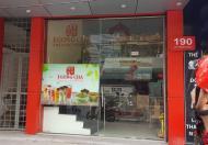 Cho thuê cửa hàng mặt phố Lê Thanh Nghị 30m2, 5 tầng, mặt tiền 4m, 25tr/tháng