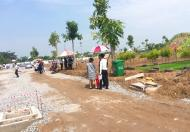 Bán đất trung tâm thị trấn Đức Hòa, 90m2, sổ hồng riêng, cách TL 10 chỉ 200m