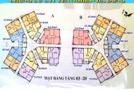 Chính chủ bán gấp căn 1502, DT 61.94m2, CC CT1 Yên Nghĩa, giá 11tr/m2 bao tên, 0988146540