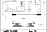 Chuyển nhượng lại căn hộ Lavitar Garden - Bình Thái - Thủ Đức. Giá 1.550 tỷ
