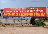 Lô góc cuối cùng Đông Tây Samsung Lý Nam Đế - Phổ Yên - Thái Nguyên cam kết pháp lý cơ hội sinh lời