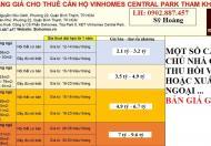 Chuyên bán căn hộ Vinhomes 1- 2- 3- 4PN giá tốt nhất thị trường