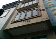 Bán nhà gần KĐT Đại Thanh, Hữu Hòa, 1.3 tỷ thoáng trước, sau 4 tầng, 34m2, 4PN, LH 0912188801
