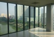 Bán nhà mặt hồ phố Chùa Láng DT 75m2 x 5T lô góc 3 mặt thoáng ra hồ giá 17tỷ.