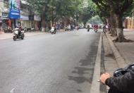 Bán nhà mặt phố Lý Nam Đế,Trần Phú,HN: Dt60m2x5T,Mt6.4m,lô góc,có thang máy