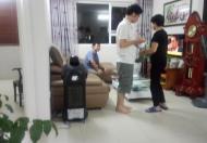 Cho thuê căn hộ chung cư 173 Xuân Thủy, DT 91m2, gồm 2 PN đầy đủ nội thất 12 tr/tháng