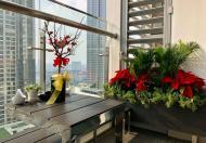 Cho thuê căn hộ 2 PN full nội thất, Vinhomes Central Park, khu Park 7, tầng trung