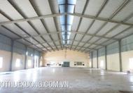 Cho thuê gấp nhà xưởng tại Yên Mô, Ninh Bình, DT 5010m2