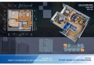 Chính chủ bán lô góc 4, ban công ĐN, 69m2 2 phòng ngủ, chung cư 60B Nguyễn Huy Tưởng, 31.5 tr/m2