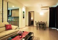 Cần cho thuê gấp căn hộ Sông Đà, Kỳ Đồng, Quận 3, DT: 80 m2, 2PN, giá 16 tr/th