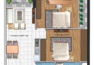 Chính chủ bán căn hộ Hoàng Quốc Việt, 66m2, giá 26 tr/m2, tầng 16, 02 phòng ngủ, 2wc
