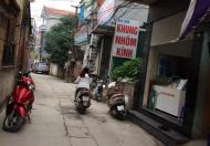 Bán 35m2 lô góc Vân Trì, Minh Khai, giá 35 triêu/m2