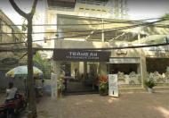 Bán nhà mặt phố Tăng Bạt Hổ, 160m2, 4 tầng, mặt tiền 12m, vị trí kinh doanh đắc địa