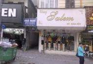 Cho thuê mặt bằng kinh doanh mặt phố Chùa Bộc, mặt tiền 6m, giá 75tr/th. LH: 0866613628