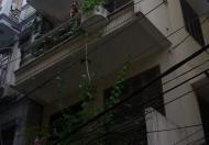 Cho thuê Nhà 66m2 x 3.5 tầng trong ngõ trong ngõ Quan Nhân cách phố quan nhân 8m