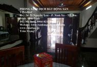 Cho thuê nhà 6 phòng khép kín tại khu Hub, trung tâm TP.Bắc Ninh