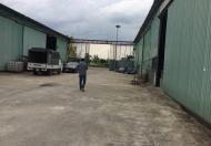 Cho thuê kho xưởng 300m2 đường container vào chỉ 5 triệu/th tại Trâu Qùy, Gia Lâm, QUÁ RẺ!