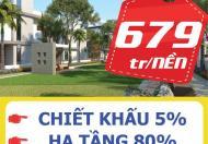 Chính thức mở bán đất sổ đỏ từng nền Garden House thanh khoản 3 tháng giao sổ Giá 679tr.